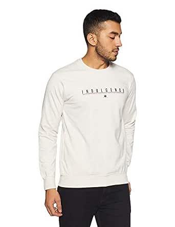 Duke Men's Sweatshirt (LF3351EcruL_Ecru_L)