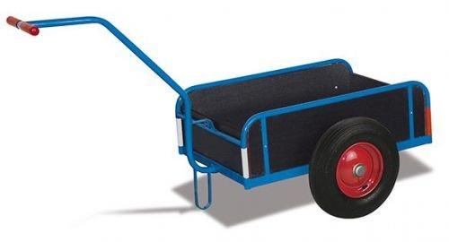 Handwagen mit Bordwand Traglast (kg): 400 Ladefläche: 1105 x 535 mm RAL 5010 Enzianblau