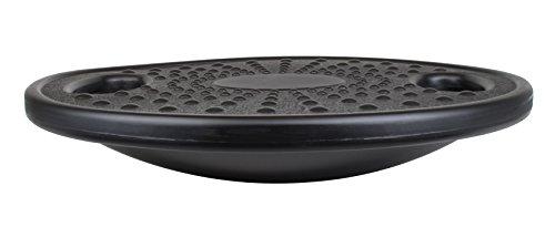 GAH-Alberts 141004 Therapiekreisel mit Griffaussparungen - Kunststoff, schwarz, 400 x 80 mm