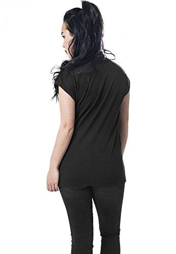 Merchcode Damen Oberteile/T-Shirt Ladies Linkin Park Eye Guts Black