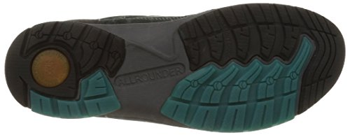 Allrounder By Mephisto Dascha, Damen Trekking- & Wanderhalbschuhe Grün (rubber 1/gris Nubuk 66)