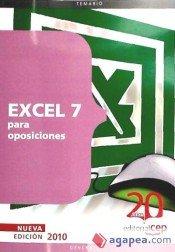Excel 97 para Oposiciones (Colección 57) por Sin datos