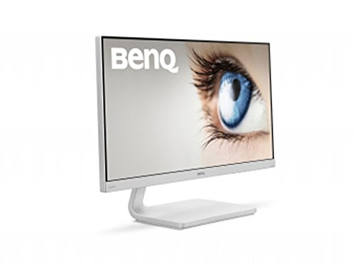 BenQ VZ2470H  Eye-Care Monitor 24 Inch FHD 1080p Monitor, Low Blue Light, Flicker-Free, High Contrast 3000:1, White