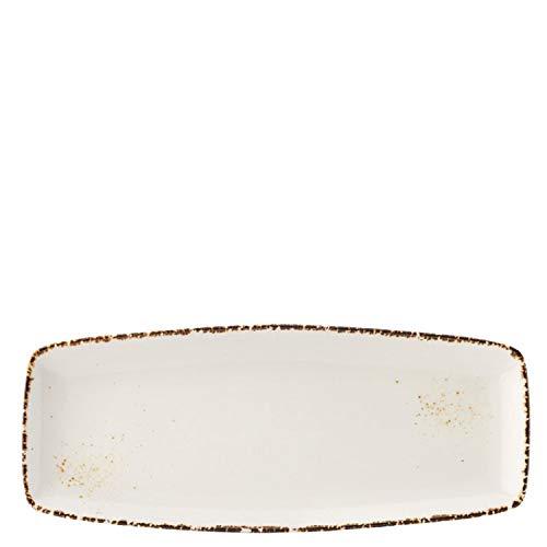 Utopia Ct9072 umbra rectangulaire plate, 30,5 cm, 32 cm (lot de 6)