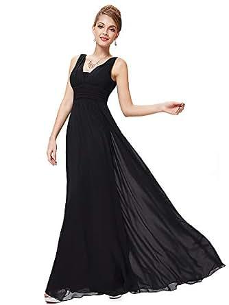 80e78814dbf9 Ever-Pretty Robe de Soiree en Double V-col de Style Empire 08110   Amazon.fr  Vêtements et accessoires