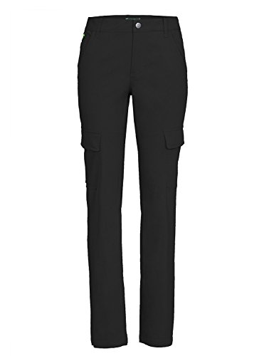 Jeff Green Damen Cargohose Felice, Farbe:Black;Größe - Damen:36