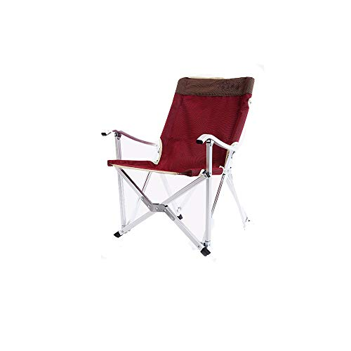 NAN® De Plein Air Portable Alliage D'aluminium Chaise Pliante Chaise De Pêche Chaise Longue De Plage Fauteuil Chaise Longue