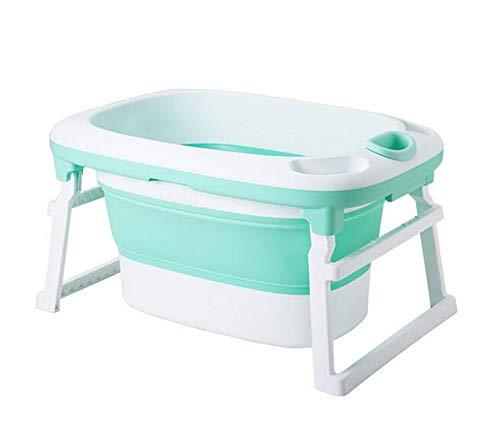 HYFZY Baby-Badewanne, Sommerkaby-Komfort-Bad,Green
