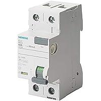 Siemens 5sv - Interruptor diferencial clase-a 2 polos 40a 30ma 70mm