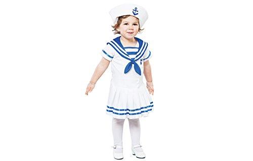 fyasa 706157-t00Sailor Lady Fancy Dress Kostüm, Klein (Sailor Fancy Dress Kostüm)