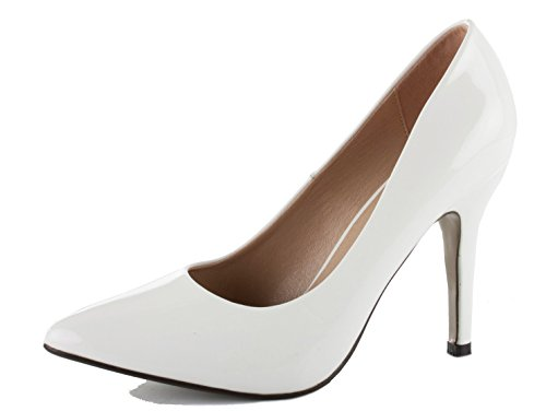 WOMENS LADIES LOW MID HIGH HEEL POINTED COURT SMART PARTY OFFICE WORK...