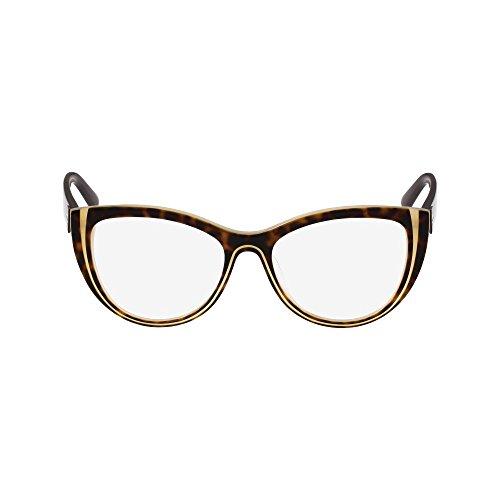 Karl Lagerfeld KL913 Schwarz Havana 53mm Rezept Bereit Brille