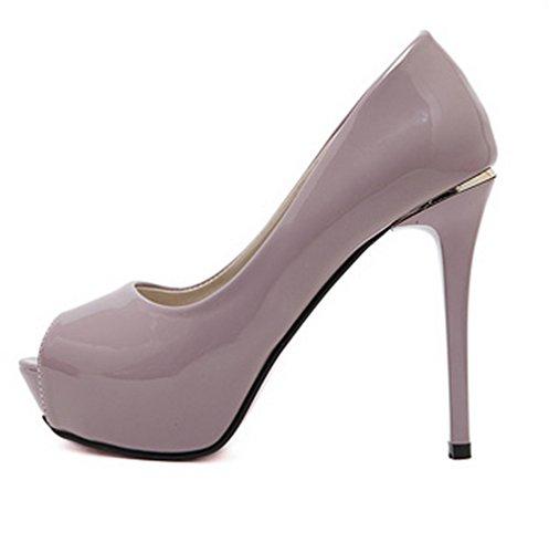 Sconosciuto 1TO9Mmsg00217 - Ballerine Donna Purple