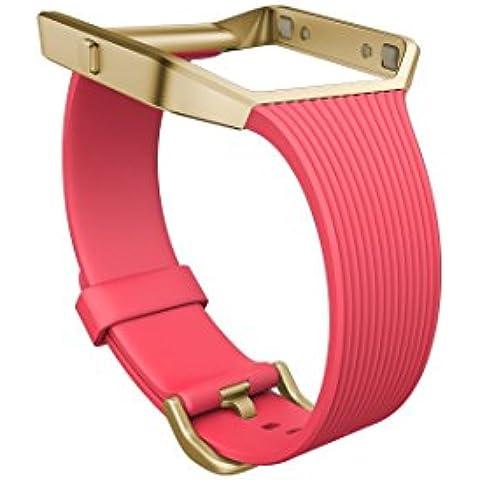 Fitbit Blaze - Pulsera Clásica, para unisex, Rosado, S