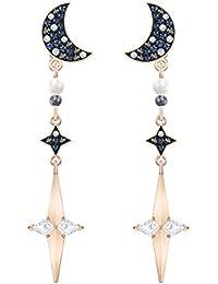 Swarovski - Boucles d'Oreilles Femme - Finition Mix de Métal Cristal Multicolore - 5489533