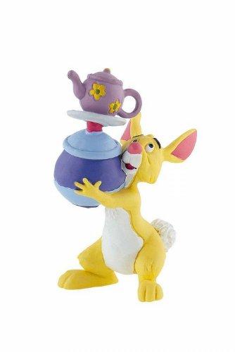 Winnie l´ourson figurine Coco Lapin avec vaisselle 8 cm - Bullyland - Disney
