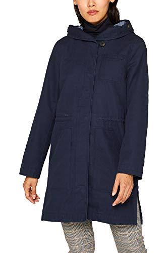 Edc by Esprit 099cc1g027 Abrigo, Azul Navy 400, X-Small para Mujer