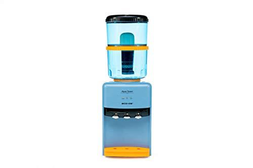 Eco-3190 Completo - Aqua Tower + Filter Tower - Dispensador de Agua fría, cálida y Natural - Incluye Torre con purificador - 7 Fases de filtrado