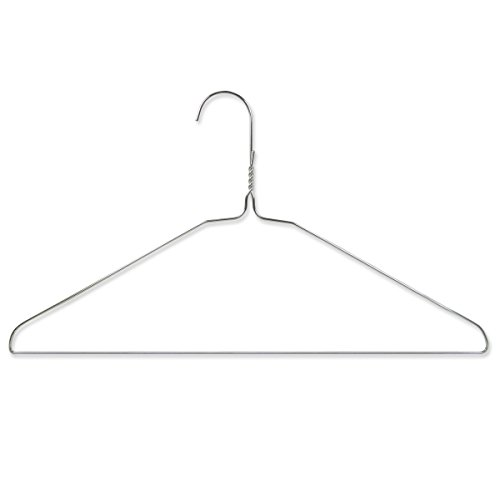 hangerworld-41-cm-16-inch-galvanised-metal-wire-coat-clothes-hangers-pack-of-20-silver