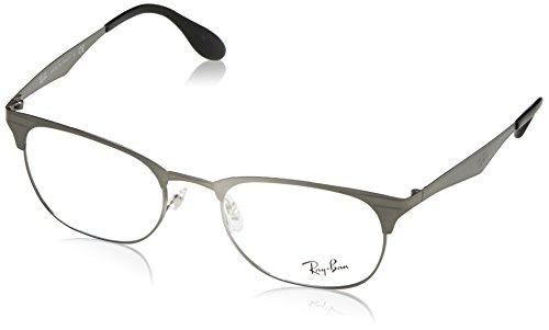 5c8f6dde32 Ray-Ban 0rx 6346 2553 52 Monturas de gafas Brushed Gunmetal Unisex-Adulto