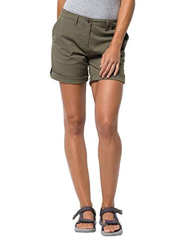 Jack Wolfskin Damen Desert Shorts, Woodland Green, 36 (Mountain-kamera Green)