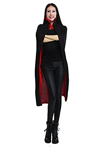 Costumes Garçons Vampire - Cape Longue Halloween Costume Sorcière Diable Capuchon