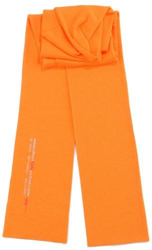 enschal - Krawatte UNI orange (Orange Schal Für Männer)