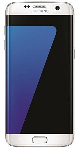 """Samsung Galaxy S7 Edge Smartphone da 32GB, 5.5"""", 12MP, 4GB RAM, Android 6.0, Bianco (Ricondizionato Certificato)"""
