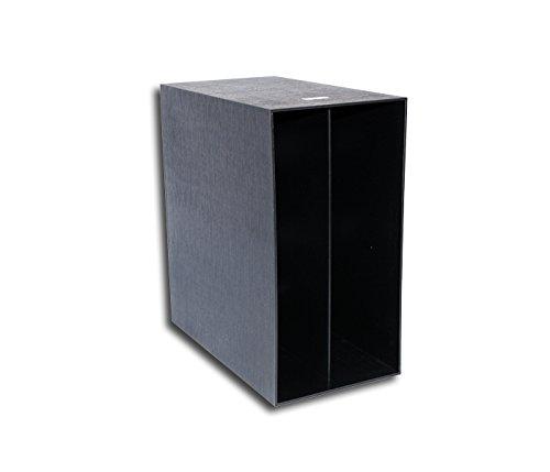 LP Schallplatten Kunststoff Box schwarz Protected