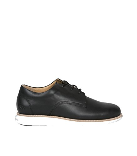GRAM , Chaussures de ville à lacets pour homme Black Full Grain Leather