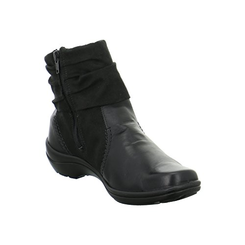Romika - Cassie 12, Stivali classici alla caviglia Donna Noir (Schwarz 100)
