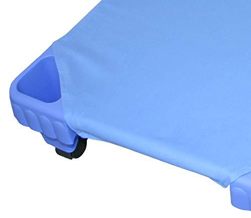 EDUPLAY 110024 - Sábana Bajera (160 cm), Color Azul