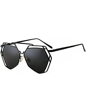 Gafas de sol de las señoras/Gafas de sol de manera irregular de la frontera/Vintage gafas de sol polarizadas