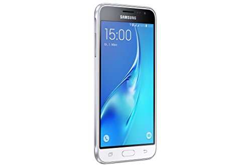 Samsung Galaxy J3 SM J320F   Smartphone (SIM doble  Android  MicroSIM  GSM  UMTS  LTE  4G) Color Blanco