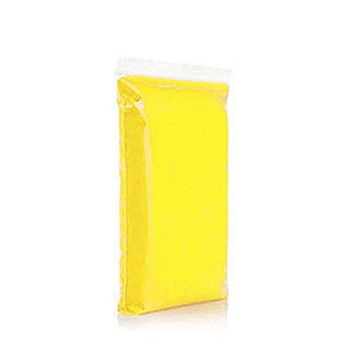 Yellow Soft Clay (Gemini_mall® 50g/Bag Soft Clay Dough for Baby Handprint & Footprint Keepsake Kit (Yellow))