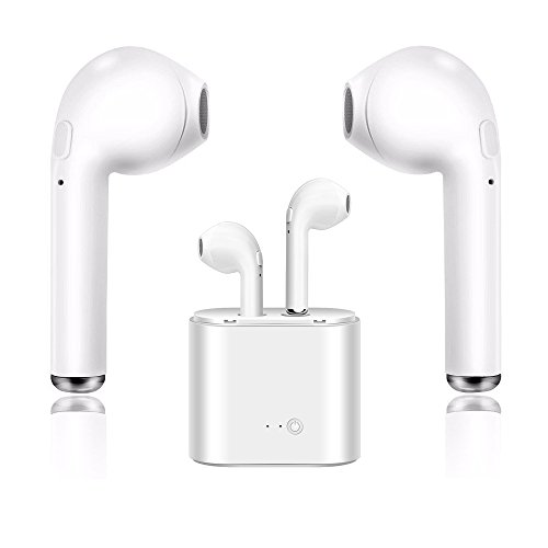 Wireless-Headset, Bluetooth-Headset, Headset Sport-Headset mit Lade-Kit, Freisprecheinrichtung iPhone 8 8 Plus 7 7 Plus 6 S Samsung Galaxy S8 S8 iOS Android Smartphone