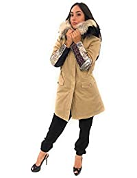 407b163fa8 Amazon.it: Pelliccia di volpe - Più di 500 EUR / Giacche e cappotti ...