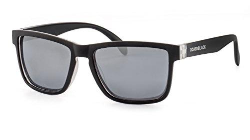 Back in Black Verspiegelte Sonnenbrille/Polarisierte Sonnenbrille für Herren F2504418