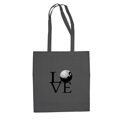 todesstern-love-stofftasche-beutel-farbe-grau