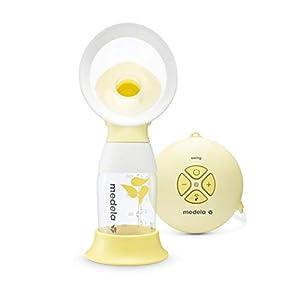 Medela Swing Flex Electric Breast Pump, Portable Single Silicone Pump