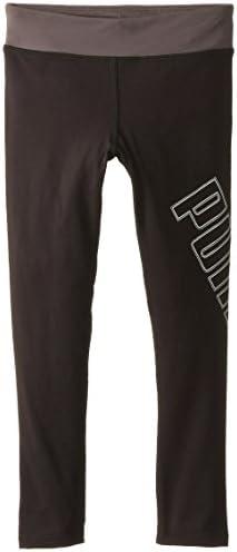 Puma Little Girls' Tech Legging, nero, nero, nero, 6 | prezzo di vendita  | Ammenda Di Lavorazione  | Colore molto buono  | Vari disegni attuali  b8d643