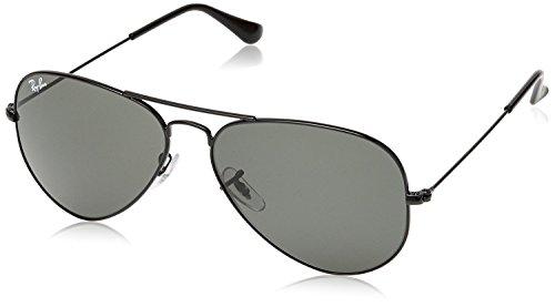 Ray-Ban Aviator Sunglasses (Black) (RB3025|002/5862)