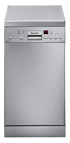 Lavavajillas estrecho inox Brandt DFS1010W