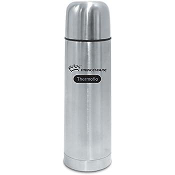 Princeware Elsa Stainless Steel Bullet Flask, 1 Litre, Silver
