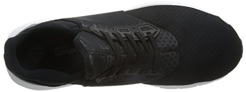 adidas Falcon Elite 5 M, Chaussures de Running Homme Noir (Core Black/Silver Metallic/Footwear White)