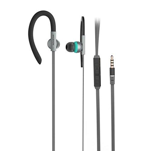 In Ear Sport Kopfhörer verdrahtet Steuerkabel Clip Stereo Sound Noise Cancelling Ohrhörer Headsets (Ziel-kopfhörer)