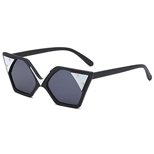 WYUE Sonnenbrillen, Personality Ladies Sonnenbrillen, Street Beat Stars Sonnenbrillen,D
