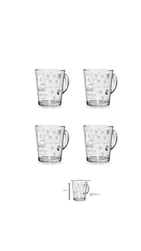 Caffe Latte Macchiato Glas 12er Packung Sonderaktion auch für viele weitere Getränke geeignet