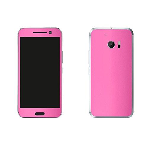 HTC 10 Pink Design Schutzfolie Designfolie Skin Faceplates Schutz Folie (Herstellung in Deutschland) Htc Pink Faceplates