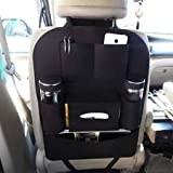 #7: ASkyl All in one Car Back Seat Organizer Vehicle Mounted Storage Bag / tissue paper holder for car (Color As Per Available)